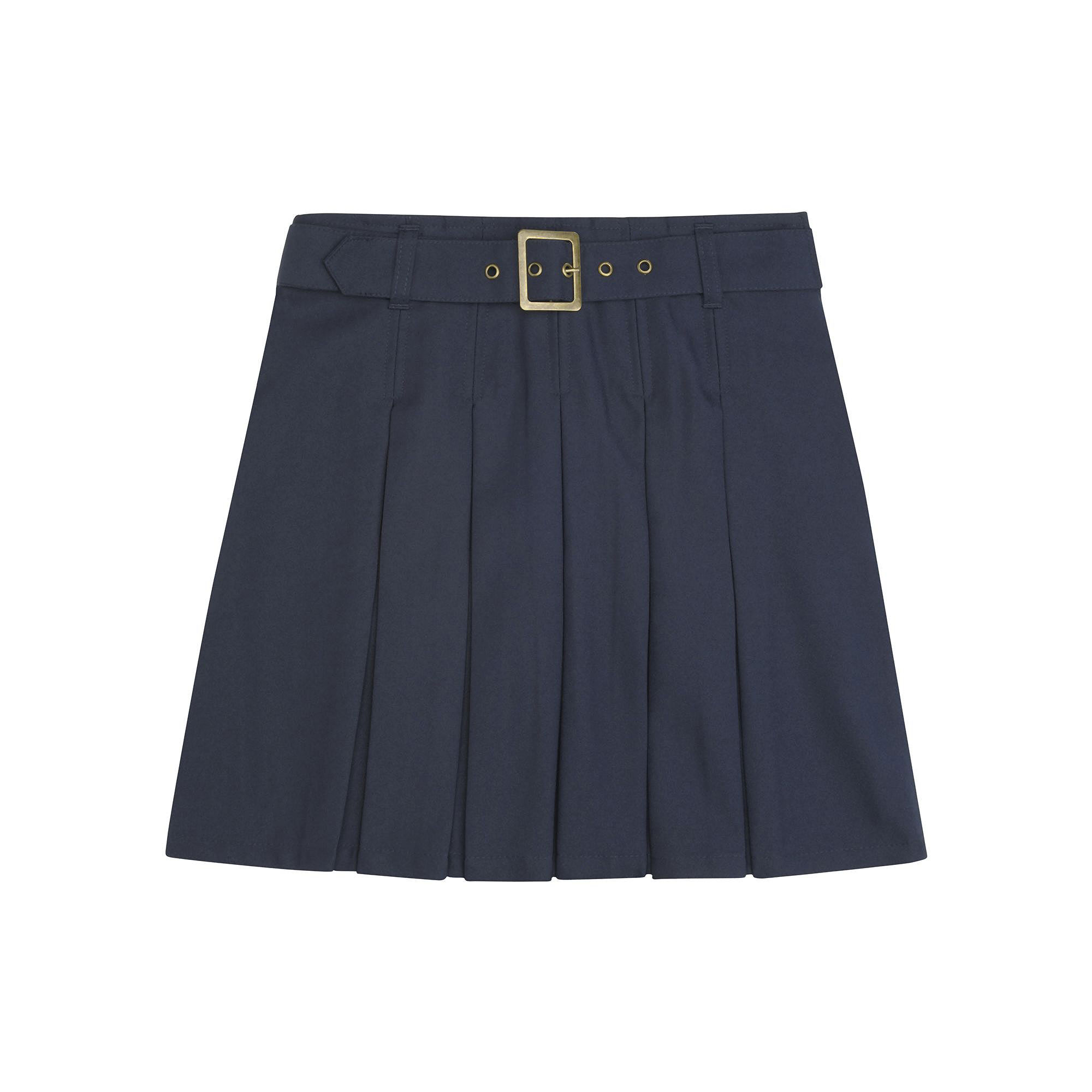 French Toast Buckle Scooter Skirt - Girls 7-20 and Plus plus size,  plus size fashion plus size appare