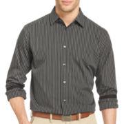 Van Heusen® Night Stripes Long-Sleeve Button-Front Shirt