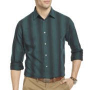 Van Heusen® Night Stripes Long-Sleeve Button-Front Shirt