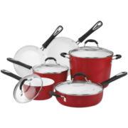 Cuisinart® Elements 10-pc. Ceramic Cookware Set + BONUS