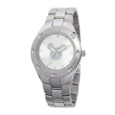 jcpenney.com | Disney Mickey Mouse Mens Stainless Steel Watch