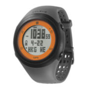Soleus GSP Fly Black Silicone Strap Running Digital Sport Watch