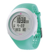 Soleus GSP Fly Teal Silicone Strap Running Digital Sport Watch