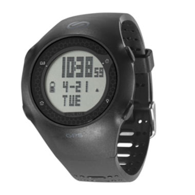 jcpenney.com | Soleus GPS Turbo Black Silicone Strap Running Digital Sport Watch