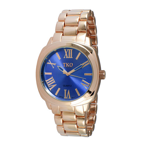 TKO ORLOGI Womens Blue Dial Boyfriend Bracelet Watch