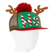 Mixit™ Ho-Ho-Ho Holiday Reindeer Trucker Hat