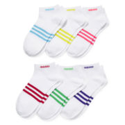 adidas® 6-pk. Superlite Low-Cut Socks