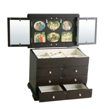 jcpenney.com | Kathy Ireland Black-Finish Photo Frame Jewelry Box