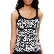 Jamaica Bay® Peasant Tankini Swim Top
