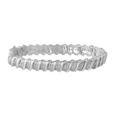 jcpenney.com | 1/2 CT. T.W. Diamond Sterling Silver Bracelet