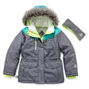 ZeroXposur® Snowboard Jacket and Headband - Girls 7-16