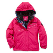 Vertical 9 Vestee Fleece-Lined Ski Jacket - Girls 7-16