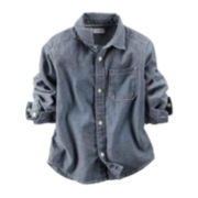 Carter's® Button-Front Chambray Shirt -  Boys 4-8