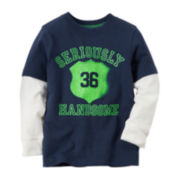 Carter's® Long-Sleeve Graphic Tee -  Boys 4-8