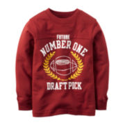 Carter's® Football Graphic Sweatshirt -  Boys 4-8