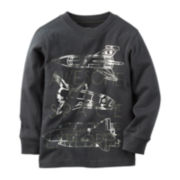 Carter's® Spaceship Sweatshirt - Preschool Boys 4-7
