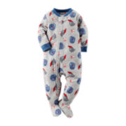 Carter's® Baseball-Print Footed Bodysuit - Toddler Boys 2t-5t