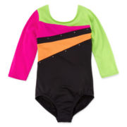 Jacques Morét 3/4-Sleeve Gymnastics Leotard - Girls 7-16