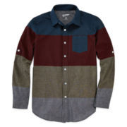 Arizona Long-Sleeve Button-Front Shirt - Boys 8-20