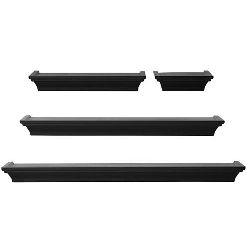 Melannco® 4-pc. Wall Shelf Set