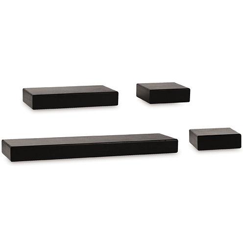 Melannco® 4-pc. Floating Shelf Set