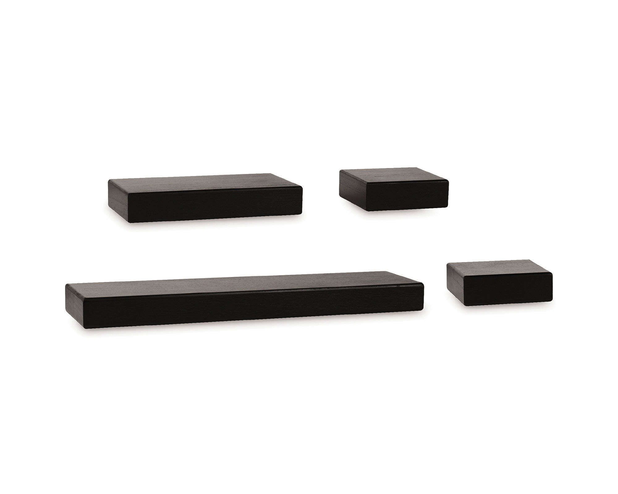 Melannco 4-pc. Floating Shelf Set