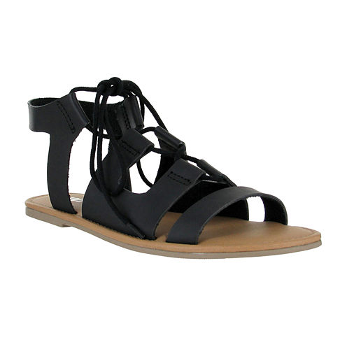 Mia Girl® Delphine Lace-Up Sandals