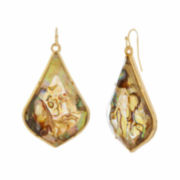 Natasha Gold-Tone Drop Earrings