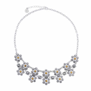 jcpenney.com | Liz Claiborne® Marcasite 2-Row Necklace