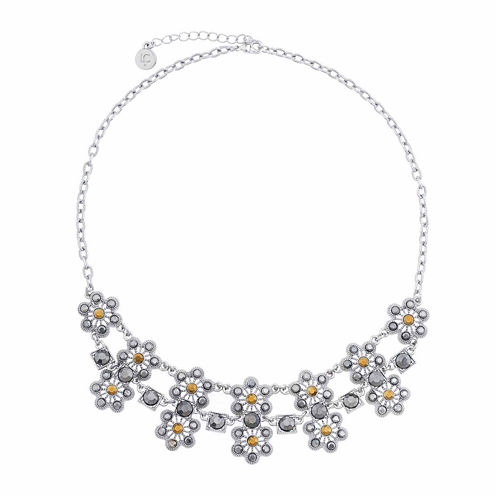 Liz Claiborne® Marcasite 2-Row Necklace