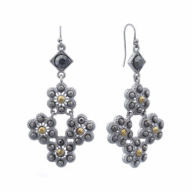 jcpenney.com | Liz Claiborne® Marcasite Chandelier Earrings