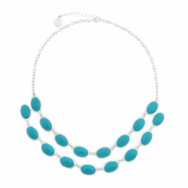 jcpenney.com | Liz Claiborne® 2-Row Drama Necklace