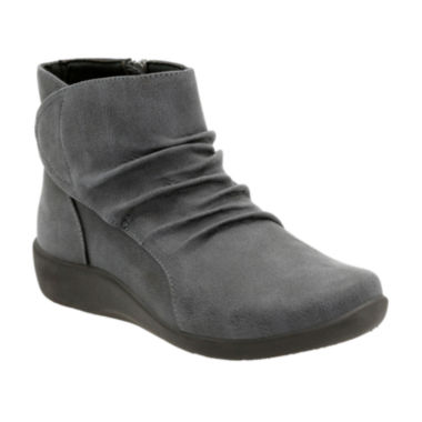 jcpenney.com | Clarks® Sillian Chell Comfort Ankle Boots