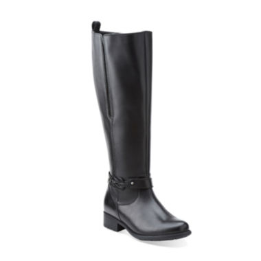 jcpenney.com | Clarks® Plaza Impress Comfort Riding Boots
