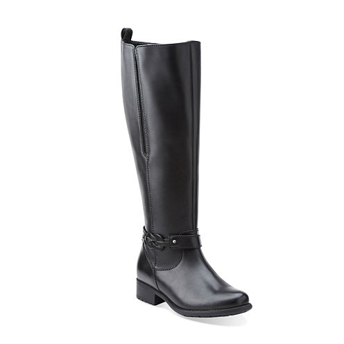 Clarks® Plaza Impress Comfort Riding Boots