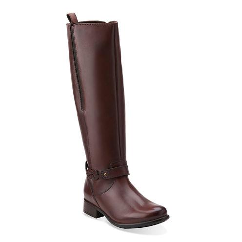 Clarks® Plaza Market Comfort Riding Boots