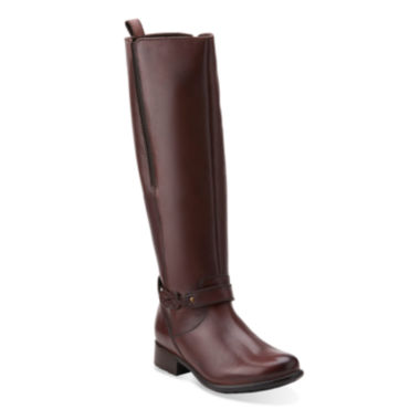 jcpenney.com | Clarks® Plaza Market Comfort Riding Boots