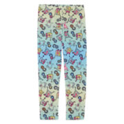 SpongeBob Ombré Leggings - Preschool Girls 4-6x