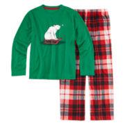 North Pole Trading Co. 2-pc. Polar Bear Sleep Set - Boys 4-16