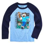 Minecraft Long-Sleeve Raglan Tee - Preschool Boys 4-7
