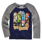Marvel® Avengers™ Epic Heroes Long-Sleeve Raglan Tee - Preschool Boys 4-7