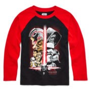 Star Wars: Force Awakens™ Long-Sleeve Raglan Tee - Preschool Boys 4-7