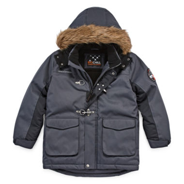 jcpenney.com | Big Chill Fur-Trim Hooded Jacket - Boys 8-18