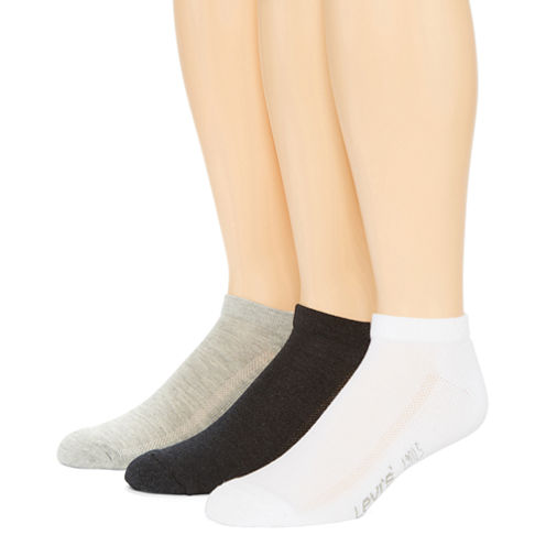 Levi's® 3-pk. Cushioned Low-Cut Socks