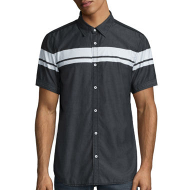 jcpenney.com | i jeans by Buffalo Manford Short-Sleeve Shirt