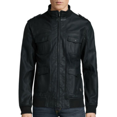jcpenney.com | i jeans by Buffalo Apollo Leather Jacket