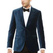 JF J. Ferrar® Long-Sleeve Velvet Sport Coat - Slim Fit