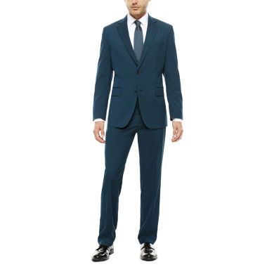 jcpenney.com | JF J. Ferrar® Teal Stretch Suit Separates- Classic Fit