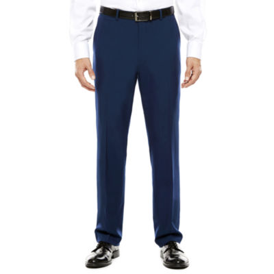 Men's JF J. Ferrar® Blue Stretch Flat-Front Classic Fit Suit Pants