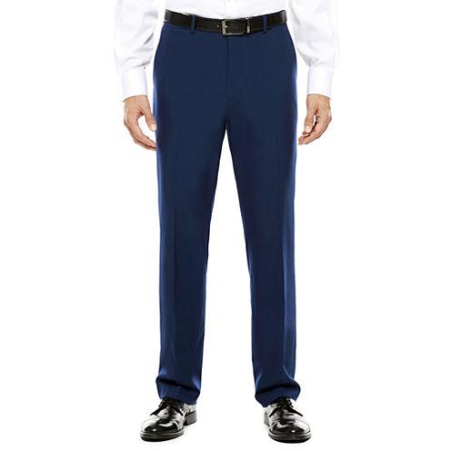 Men's JF J. Ferrar® Blue Stretch Flat-Front Classic Fit Suit Pants